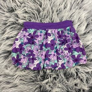 Other - Purple and Teal Floral Skirt